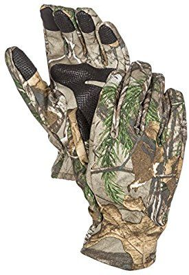 19652c2348225 Amazon.com : North Mountain Gear Camouflage Hunting Gloves Light to ...