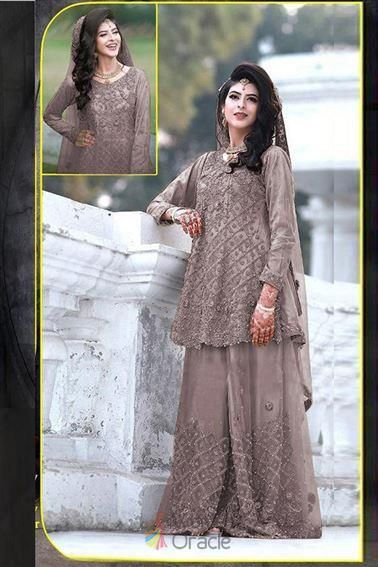 Attractive Grey Net With Thread Work Pakistani Dress For London Wedding Shopping In 2020 Trendy Suits Pakistani Dresses Party Wear Dresses,Miami Wedding Dress