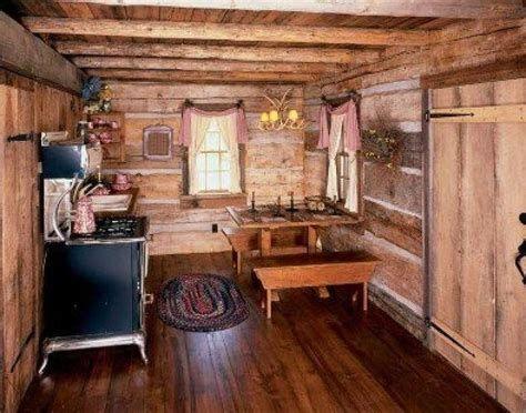 Log Home Decorating Ideas Pinterest Cabin Interiors Small Cabin