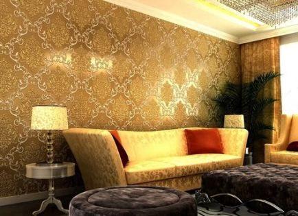34 Ideas Living Room Wallpaper Texture Wallpapers Gold Wallpaper Living Room Wallpaper Living Room Living Room Decor Colors