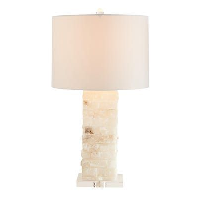 Tall Ivory Marble Crystal Table Lamp Crystal Table Lamps Table Lamp Lamp