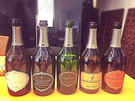 Une Volee De Champagne Billecartsalmon Vin Wine Wein Vino