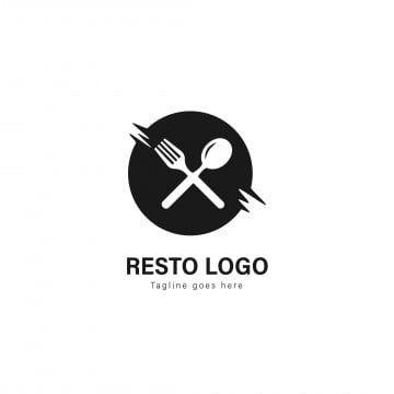 Logotipo Modelo De Restaurante Logotipo De Restaurante Com Moldura Moderna Isolada Em Fundo Branco Logo Icones Icones De Restaurante Imagem Png E Vetor Para Logo Restaurant Latar Belakang Putih Desain