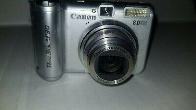 Canon Powershot A630 8 0 Mp Hd Digital Camera 4x Optical Digital Camera Hd Digital Camera Digital