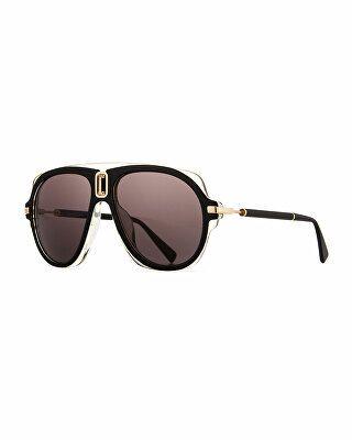 bdc76fb3ad78 Balmain Designer Acetate Aviator Sunglasses | Men > Accessories ...