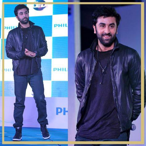 9 Times Birthday Boy Ranbir Kapoor Worked The Leather Jacket Like A Pro    Jackets, Boys