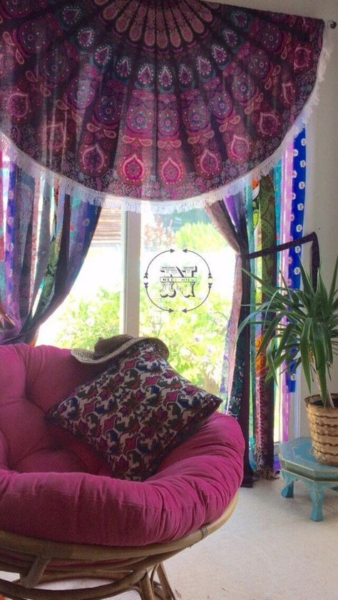 Gypsy Curtains Boho Curtain Hippie Room-Dorm Decor Glamping Sequin Mandala Tapestry Rag Garland Backdrop Festival Tent Vanlife, When considering to sleeping quarters decoration strategies, a couple of things consider facility stage. Rag Curtains, Tapestry Curtains, Gypsy Curtains, Rustic Curtains, Decorative Curtains, Cottage Curtains, Beaded Door Curtains, Tapestries, Living Room Decor Curtains
