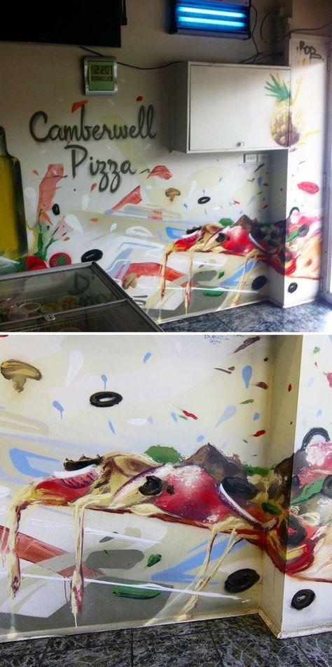 Murals - Camberwell Pizza