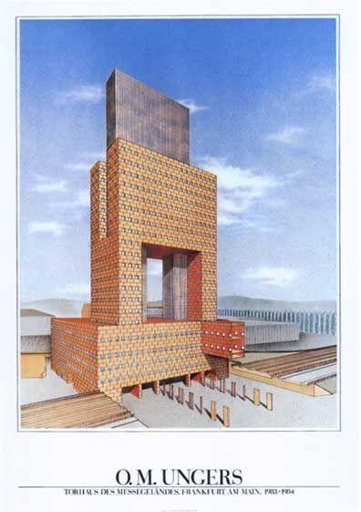 Pin By David Zink Brody On Edificio De Oficinas 1985 Mathias Ungers Facade Architecture Architecture Architecture Design