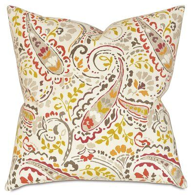 Thom Filicia Home Collection Morrison Linen Throw Pillow Linen Throw Pillow Throw Pillows Floral Throw Pillows