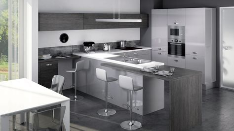 Cuisine Equipee Light Style Design Disponible En 5 Coloris
