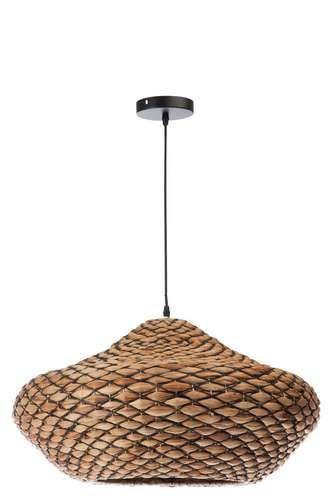 Lampe Ethnique Suspendue Ovale Bohème NaturelAmbiance Rotin hroCsBQtdx