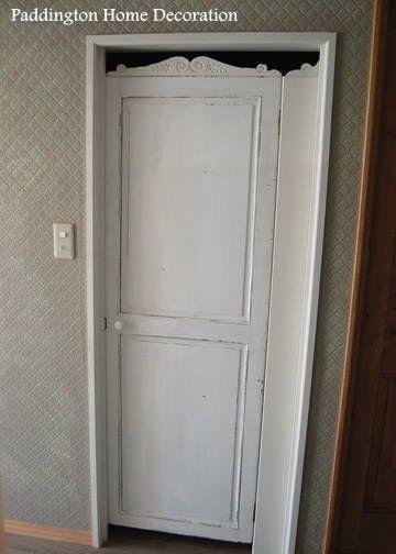 木製ドア枠3方枠セット シンプル パディントン アンティークドア