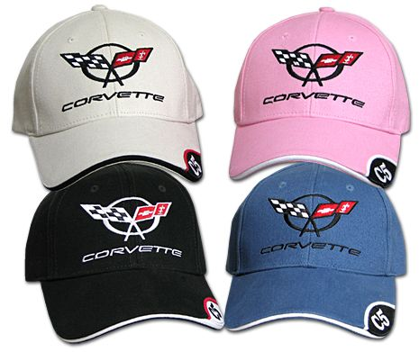 Chevrolet Corvette C5 Hat Cap Black