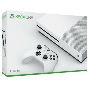 Microsoft Xbox One S 1tb Video Game Console White 234 00001 Xbox One S Xbox One S 1tb Xbox One Console