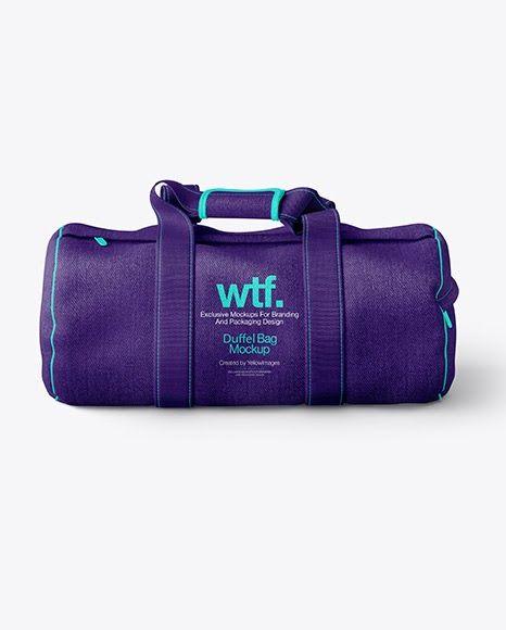 Download Download Psd Mockup Bag Baggage Cylindrical Bag Duffel Bag Fabric Front View Gym Bag Luggage Sport Bag Textile Psd Bag Mockup Mockup Psd Duffel Bag