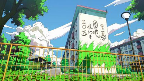 Anime Background Art on Twitter