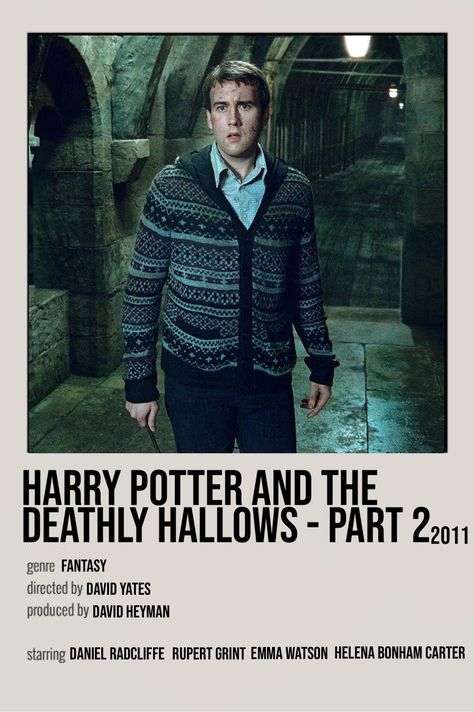 harry potter and the deathly hallows - part 2 film poster