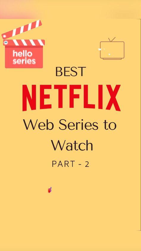 Best NETFLIX web series PART-2
