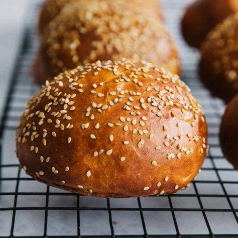 Homemade Burger Brioche Buns - dinner party -   #brioche #buns #Burger #Dinner #Homemade #Party