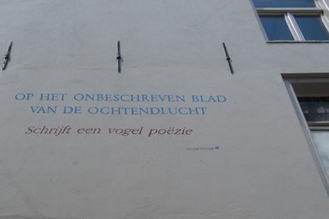 Wonderlijk Meeneempoëzie in de binnenstad van Den Bosch   Gedichten TQ-57