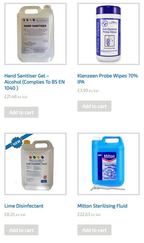Milton Hand Sanitiser Pure Products Photo And Video