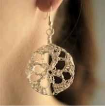 Wire Jewelry Earrings - Lacy