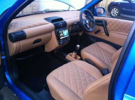Custom Truck Interior Autos 48 Ideas In 2020 Opel Corsa Truck Interior Datsun Car
