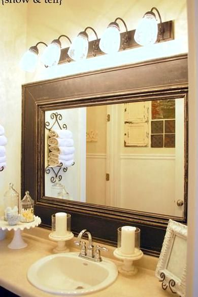 I Built The Mirror A Couple Of Years Ago Out Of Some Mdf And A