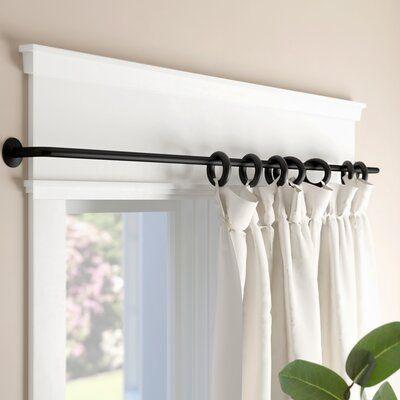 Andover Mills Balfour Wrap Curtain Rod Set Curtain Rods