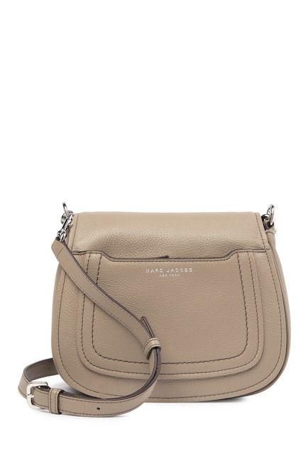7e11c74c189f51 Image of Marc Jacobs Empire City Mini Messenger Leather Crossbody Bag