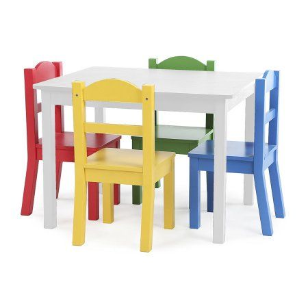 Admirable Free Shipping Buy American Kids Primary Color Wood Table Short Links Chair Design For Home Short Linksinfo
