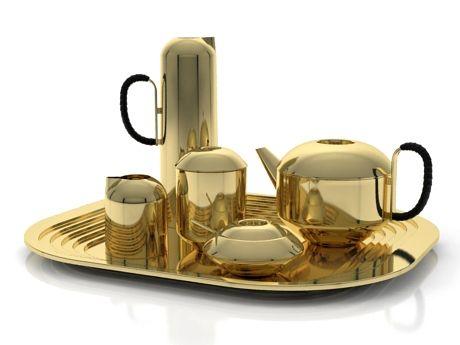 Eclectic Form Tea Set Model By Design Connected Tom Dixon