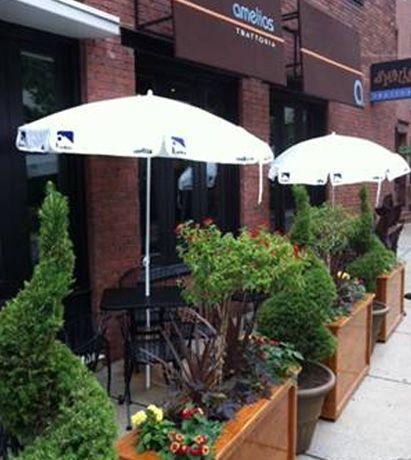 Restaurant patio barriers  7 best Restaurant patio images on Pinterest   Decks, Plant pots ...