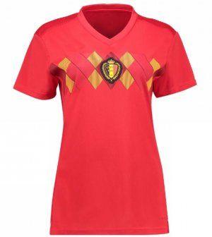 2018 World Cup Women Jersey Belgium Home Replica Red Shirt Bfc357 Wholesale Shirts Shirts Football Shirts