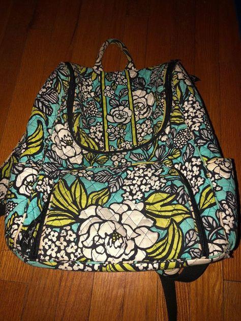 71594e06e14 Vera Bradley Large Backpack used (in great shape)  fashion  clothing  shoes