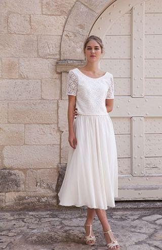 Une robe de mariée civile   Robe de marié