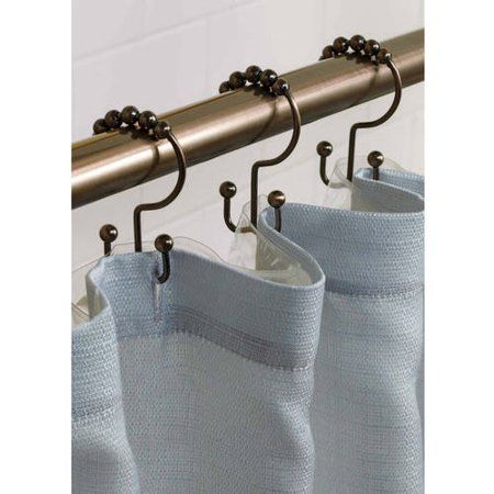 Home Double Shower Curtain Shower Curtain Hooks Double Shower
