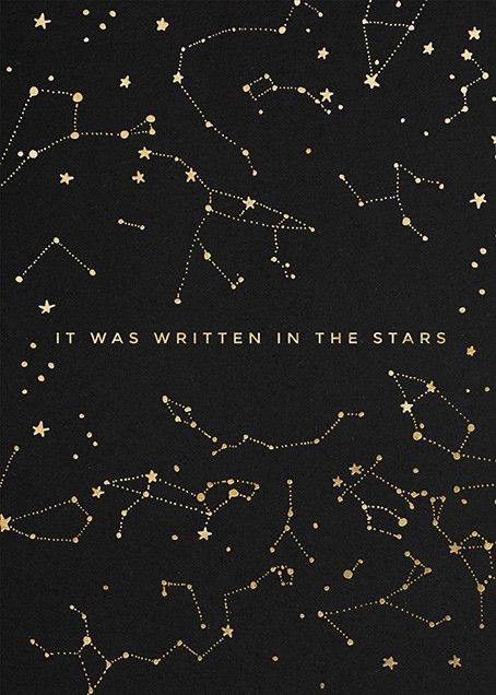 Written in the Stars | Send online instantly | Track opens