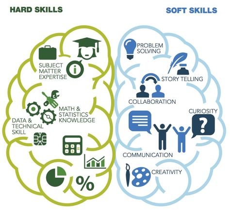 Traits, hard skills, soft skills of a data scientist Capers - soft skills