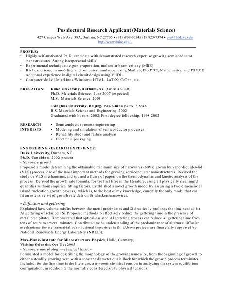 Summary Profiles for Biochemistry Resumes!!!! EXCELLENT - chemistry professor resume