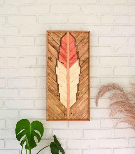 30 Easy DIY Pallet Wall Art Ideas diy #30 #easy #diy #pallet #wall #art #ideas