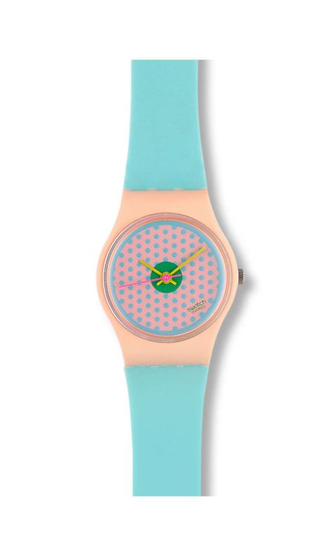 Swiss made, the Swatch watch PINK FLAMINGO features a not defined movement, a plastic strap and a plastic watch head. Discover more Originals Lady on the Swatch United States website.