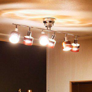 シーリングライト 6灯 Led対応 おしゃれな照明 レダ シックスボーベル