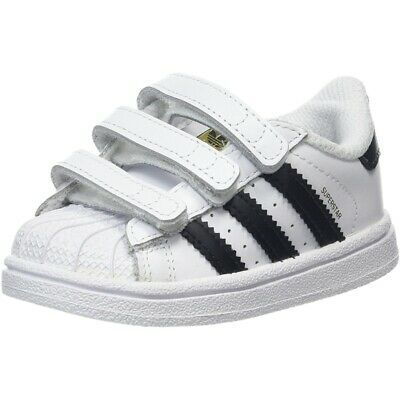 Black Leather Infant Trainers Shoes