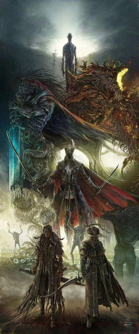9gag Wallpapers Iphone Insta Dark Souls Art Bloodborne Art Bloodborne