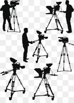 Free Download Camera Operator Photography Illustration Silhouette Of A Radio Camera Reporter Png 890 1200 And 409 1 Kb Ezebeay Siluet