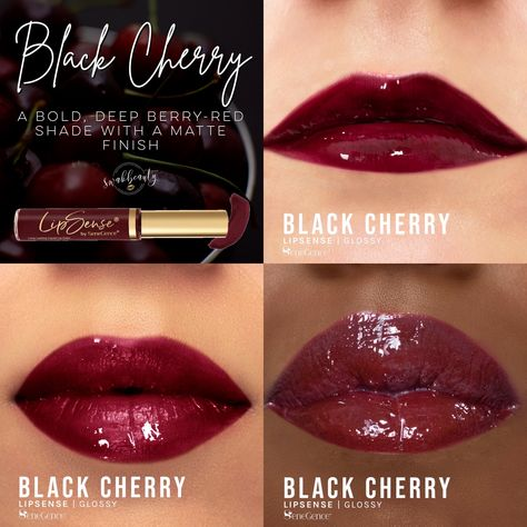 Black Cherry LipSense® (Limited Edition) – swakbeauty.com