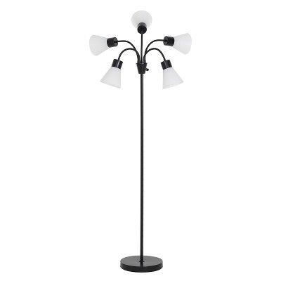 5 Head Floor Lamp Room Essentials Tall Floor Lamps Floor