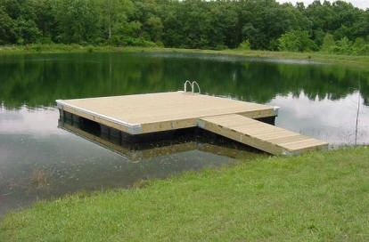 Floating Dock Kit 10 X 24 Ft Dock Accents Inc Floating Dock Plans Floating Dock Kits Floating Dock